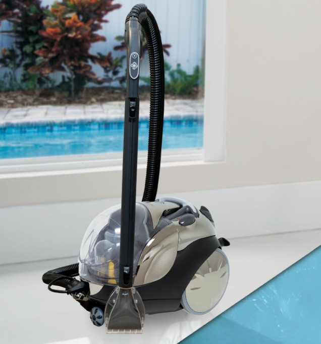 Carico Clean Machine Steam-Vacuum all in one for smarter, better, faster cleaning